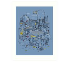 Ode to the City Art Print
