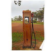 A Petrol Pump without a Filling Station Poster