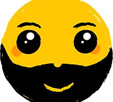 Smile With Beard by Silvia Neto
