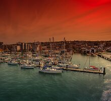 Shepards Wharf IOW by manateevoyager