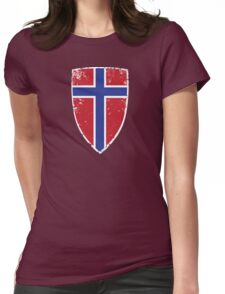 Flag of Norway Womens Fitted T-Shirt