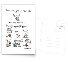 The truth about working in science Postcards