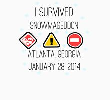Snowmageddon, Atlanta- Black Type Unisex T-Shirt