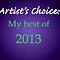 Artist's Choice: my BEST of 2013 Postcard-style