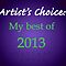 Artist's Choice: my BEST of 2013 Postcard-style