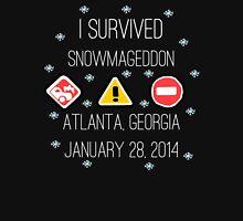 Snowmageddon, Atlanta- White Type Unisex T-Shirt