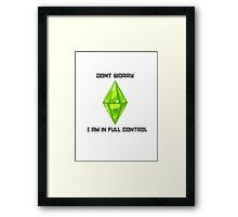 Sims 3 Framed Print