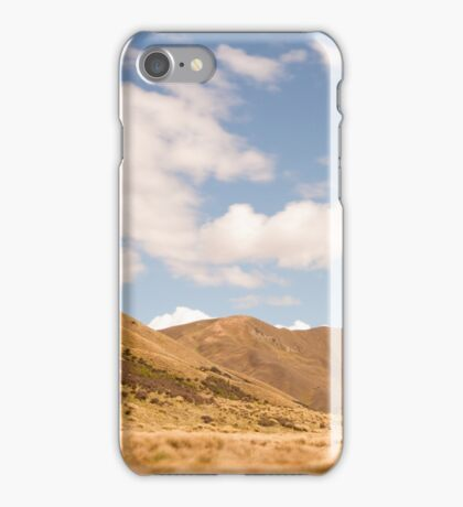 Lindis Valley, New Zealand iPhone Case/Skin