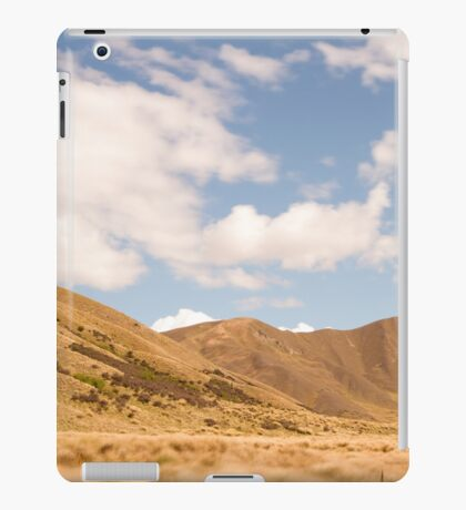 Lindis Valley, New Zealand iPad Case/Skin