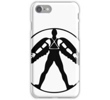 Icarus (black on light) iPhone Case/Skin