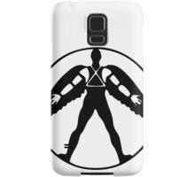 Icarus (black on light) Samsung Galaxy Case/Skin