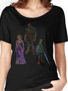Wordle Legend of Zelda Ocarina of Time Women's Relaxed Fit T-Shirt