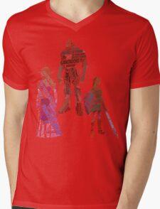 Wordle Legend of Zelda Ocarina of Time Mens V-Neck T-Shirt