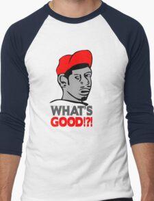 Whats good t-shirt Men's Baseball ¾ T-Shirt