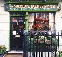 sherlock holmes museum by cocosuspenders