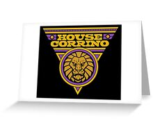 Dune HOUSE CORRINO Greeting Card