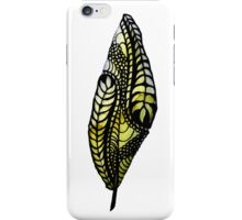 Leave Designed Feather iPhone Case/Skin