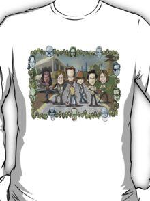 The Walking Dead by Kenny Durkin T-Shirt