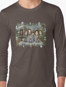 The Walking Dead by Kenny Durkin Long Sleeve T-Shirt