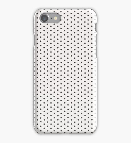 White vinyl texture iPhone Case/Skin