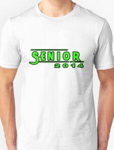 Senior 2014  Green Unisex T-Shirt