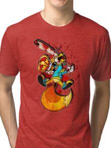 BAD FUR DAY Tri-blend T-Shirt