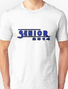 Senior 2014 Dark Blue Unisex T-Shirt