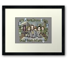 The Walking Dead by Kenny Durkin Framed Print