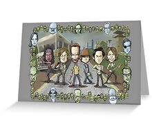 The Walking Dead by Kenny Durkin Greeting Card