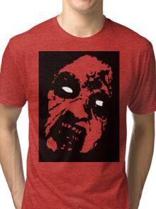 Evil Dead Cheryl black Tri-blend T-Shirt
