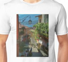 beautiful old town in italy europe Unisex T-Shirt