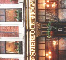 sherlock holmes restaurant Sticker