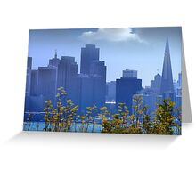 SF Cityscape Greeting Card