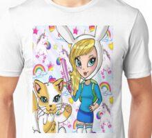 Fionna and Cake + Lisa Frank  Unisex T-Shirt