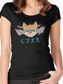 Video Dog Tee Women's Fitted Scoop T-Shirt