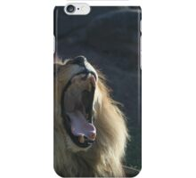 """Roar!!"" by Lion iPhone Case/Skin"