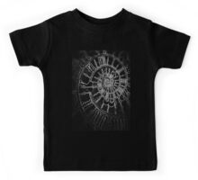 The Passage of Time (blk/wht) Kids Tee