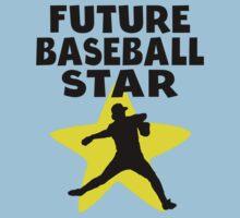 Future Baseball Star Baby Tee