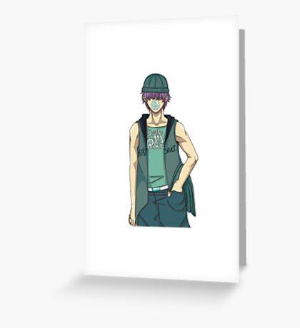 Kazuya Hara Greeting Card