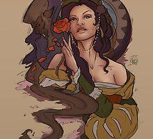 Belle and Beast by nicolealesart