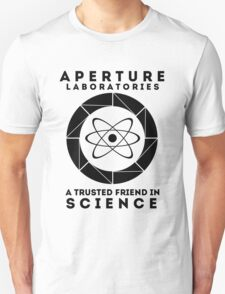Aperture - Science Friend Unisex T-Shirt