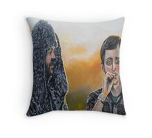 Wilfred and Ryan Throw Pillow