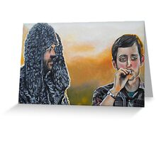 Wilfred and Ryan Greeting Card