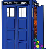 Police Box Yarn Box by InsidetheBox