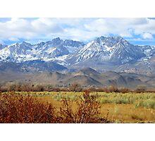Scenic Sierras Photographic Print