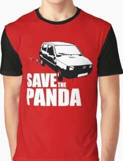Save The Panda Graphic T-Shirt