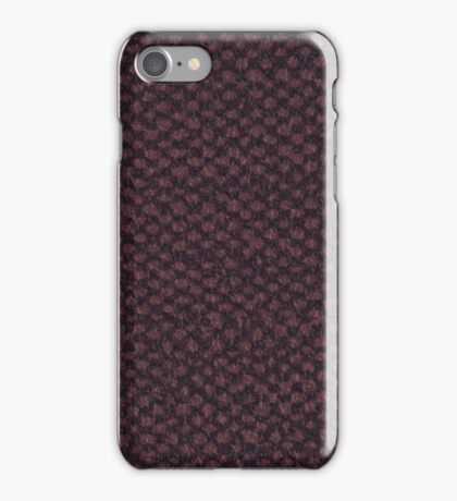 Purple vinyl texture iPhone Case/Skin