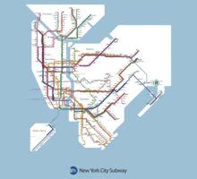 new york subway Kids Clothes