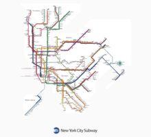 new york subway Kids Tee
