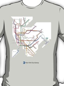 new york subway T-Shirt